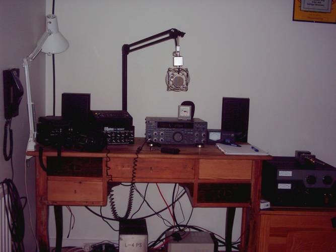 The Old Voodoo Audio Station of SA0ANX!